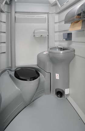 Interior Elite Portable Toilet Portapotty